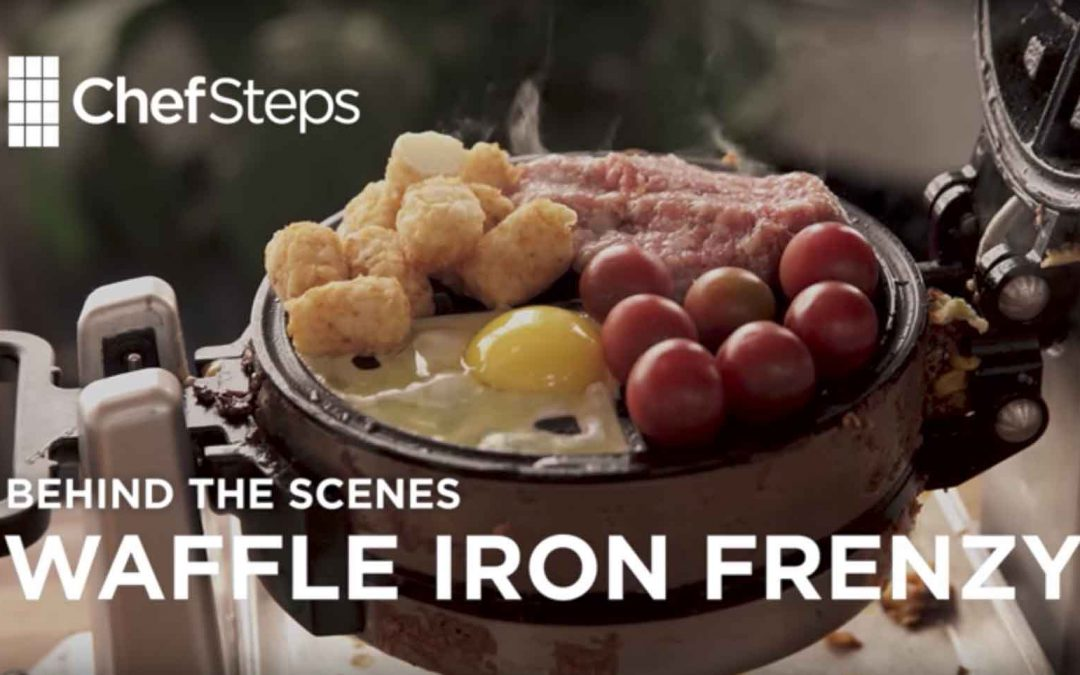 """Behind the Scenes: Waffle Iron Frenzy"" By ChefSteps"